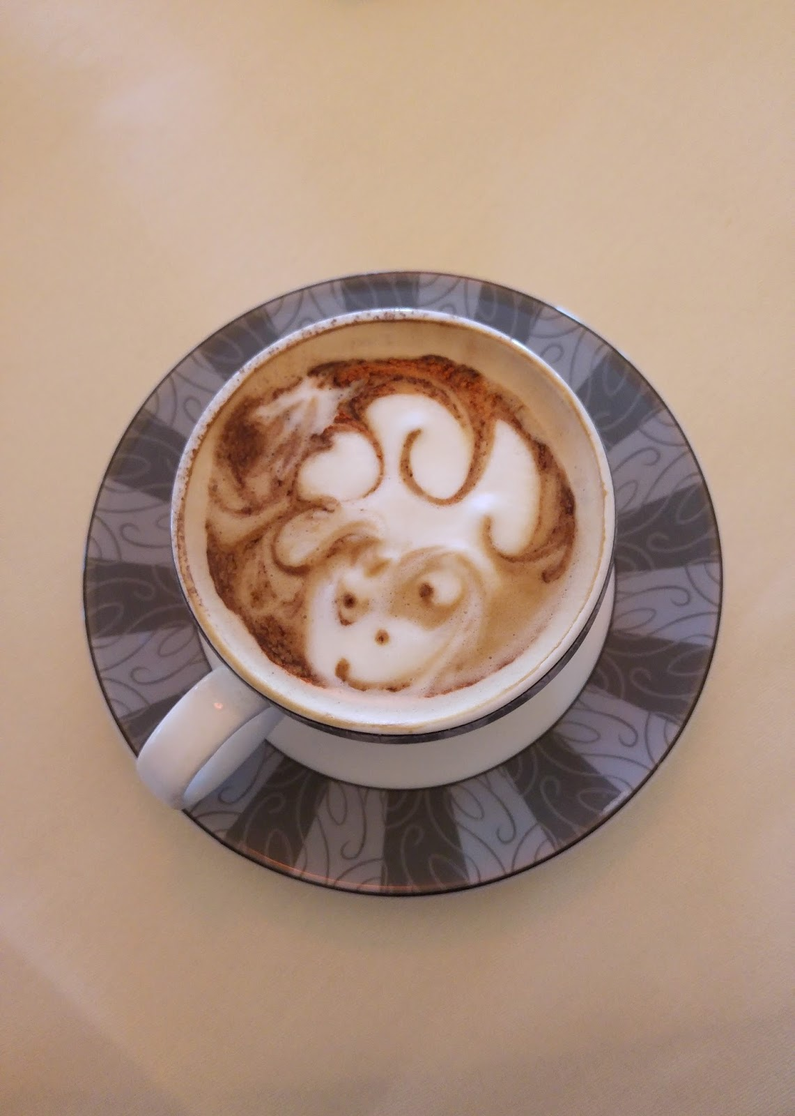 Best coffee in Edinburgh latte art