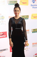 Vennela in Transparent Black Skin Tight Backless Stunning Dress at Mirchi Music Awards South 2017 ~  Exclusive Celebrities Galleries 083.JPG