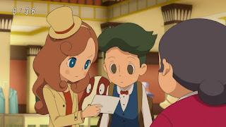 Layton Mystery Tanteisha: Katri no Nazotoki File – Episódio 02
