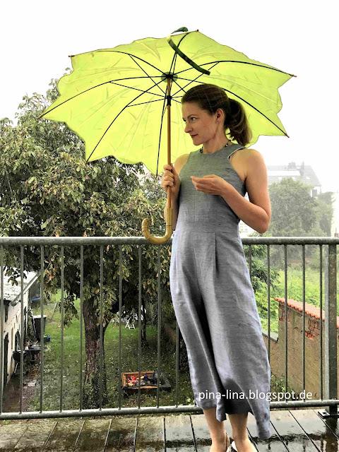 Jumpsuit Iris im Regen