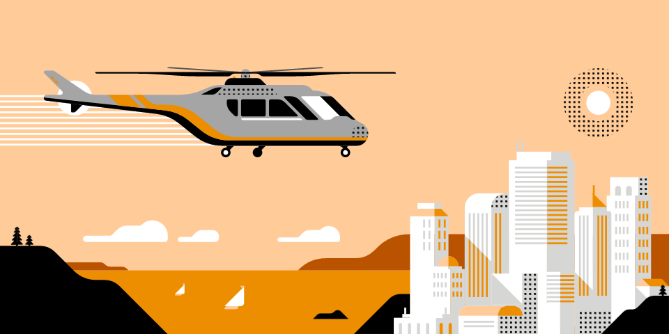 Take off for an aerial tour of Pune with UberCHOPPER