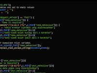 Mengirim Data ke Database Menggunakan Satu File PHP