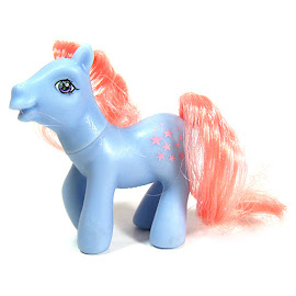 My Little Pony Blue Belle Dolly Mix Series 1 G1 Retro Pony
