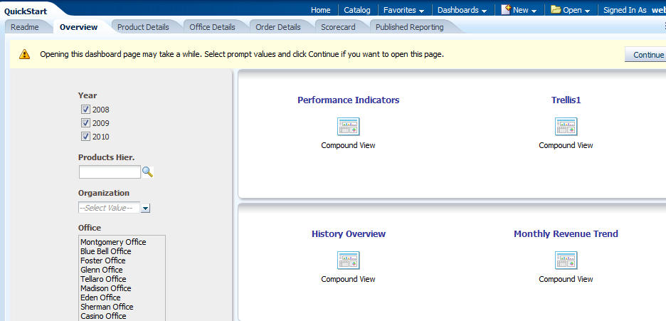 OBIEE in IL: OBIEE 11 1 1 9 New features - Interface, part 2