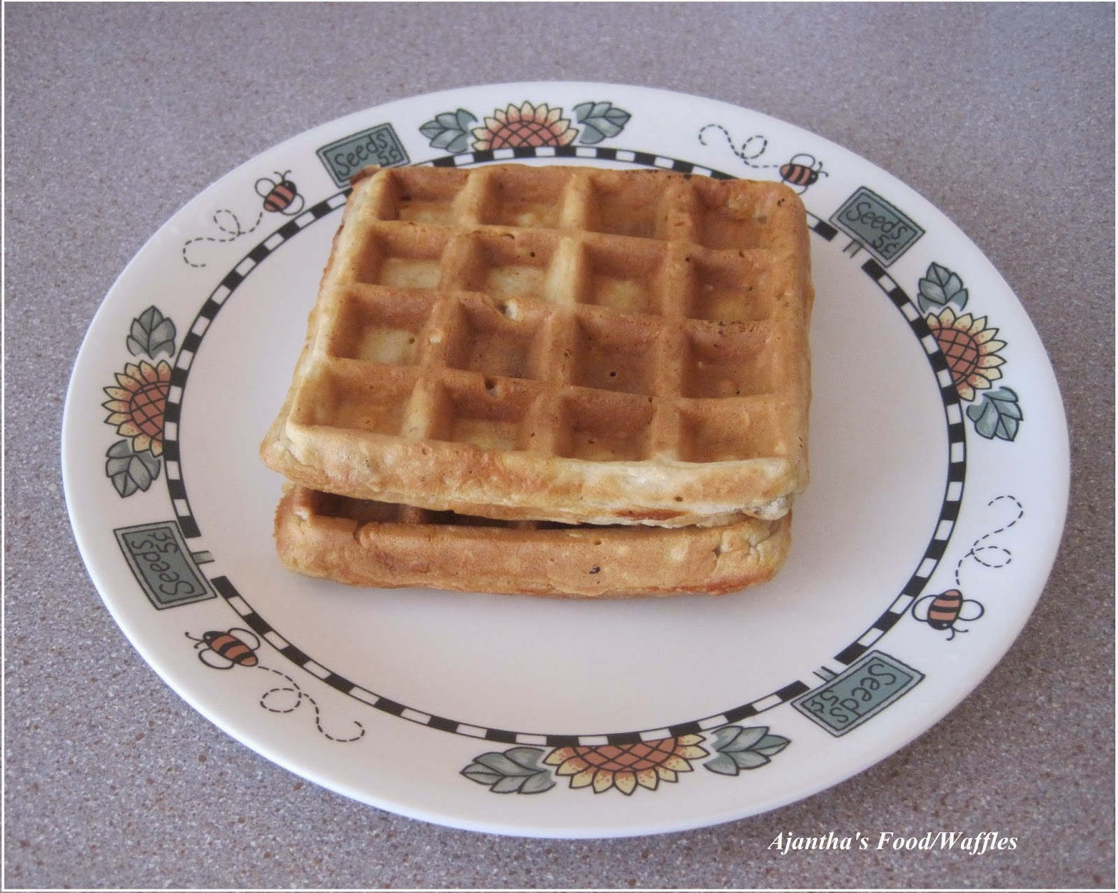 Ajantha'sfood/Homemade Waffles