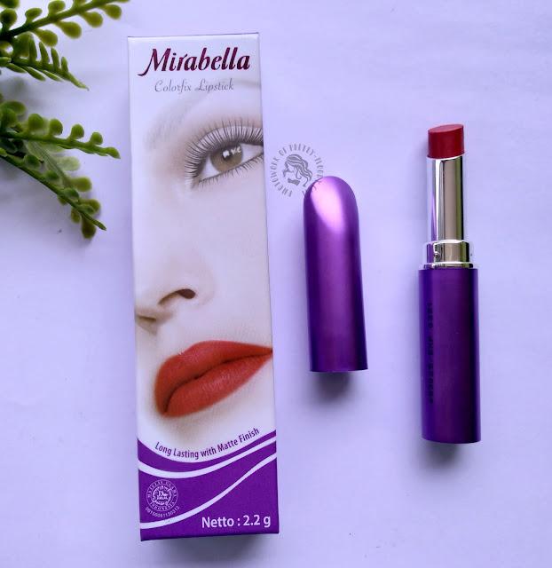 Mirabella Cosmetics, Mirabella Colorfix Lipstick, lipstick Matte, pretty-moody.com