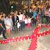 Realizan acto en solidaridad con los portadores del VIH