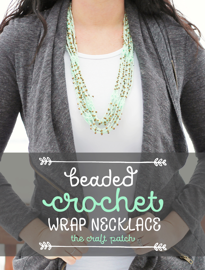 A modern crocheted accessory with video tutorial