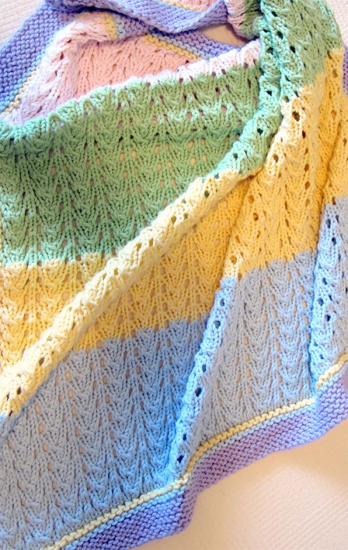 Gentle Baby Blanket - Free Pattern