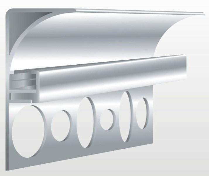 indirekte beleuchtung decke profile hause dekoration ideen. Black Bedroom Furniture Sets. Home Design Ideas
