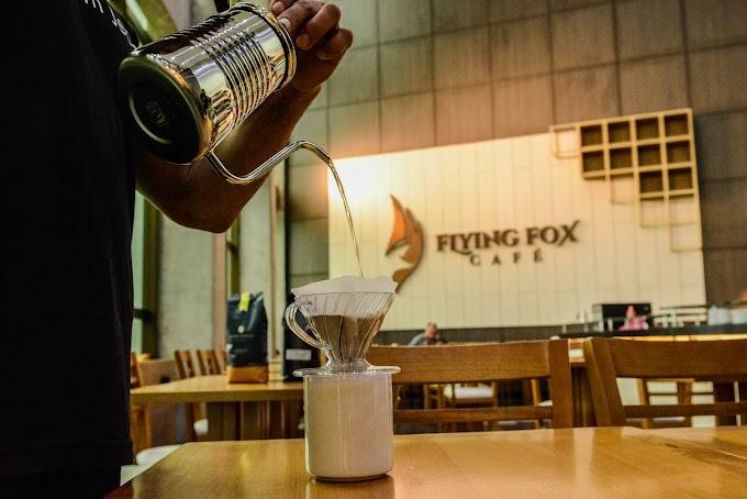 Gosta de café? Então você DEVE conhecer a Flying Fox Café