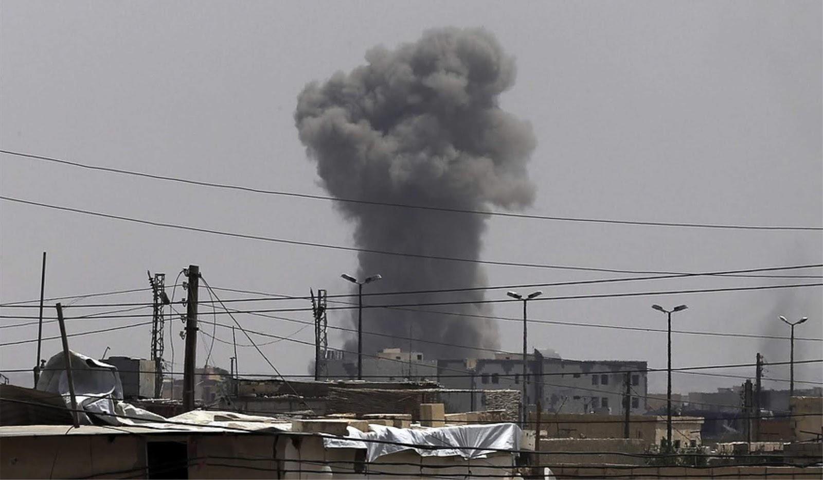 Serangan udara koalisi pimpinan AS menewaskan 40 warga sipil Suriah