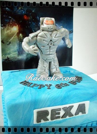 Pacific Rim Cake For Rexa Kue Ulang Tahun Birthday Cake