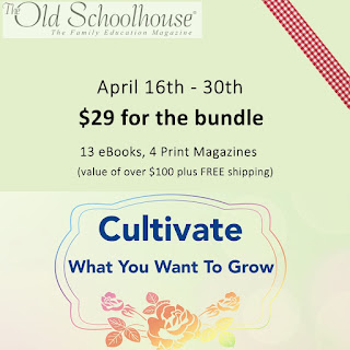 The Old Schoolhouse, April sale bundle, nature learning