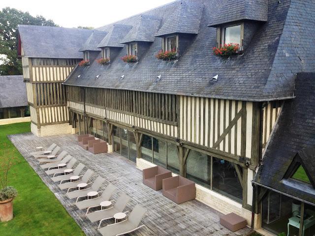Les manoirs de Tourgeville hotel de luxe en normandie france
