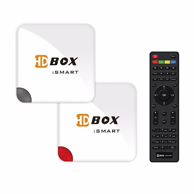 HDBOX ISMART HD NOVA ATUALIZAÇÃO V0821 - 23/08/2017
