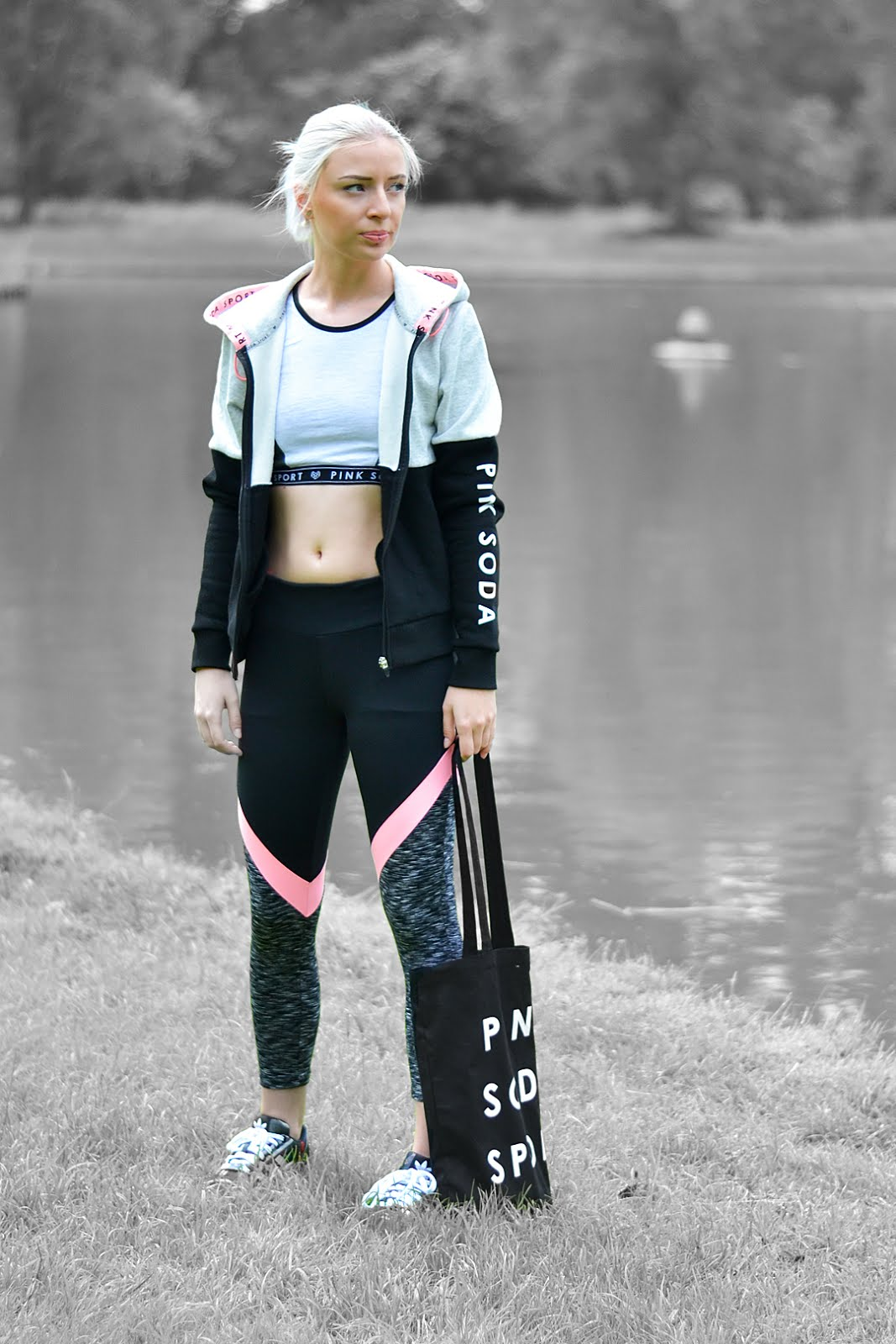 Pink soda sport, jd sports, workout outfit, beautiful, 2016, trends, belgian blogger, belgische mode blogger
