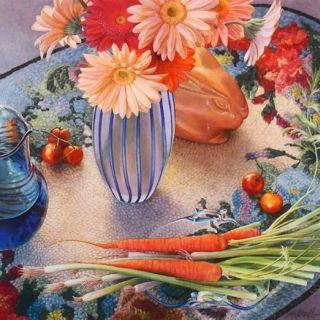 Цветочные натюрморты. Mary Kay Krell