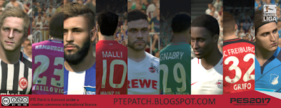 Patch PES 2017 dari PTE Patch 2.0 Single Link