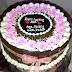 Cake dengan tema bunga sakura