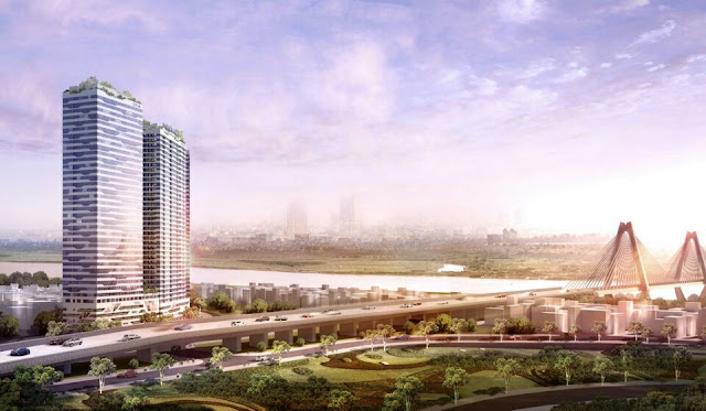 Intracom Riverside Nhật Tân Đông Anh ra bảng hàng mới 21 tầng tòa B