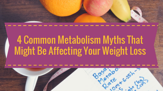 Common Myths Surrounding the Diet Weight Loss Program