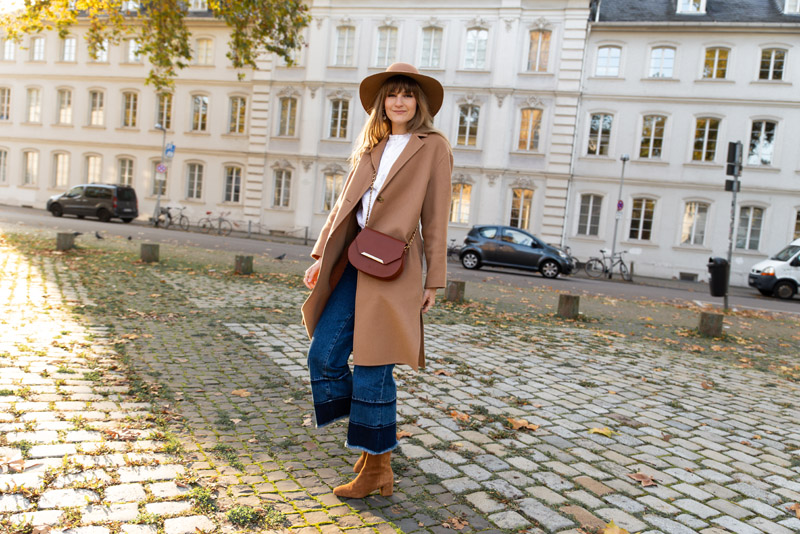 parisian style fall outfit idea 2019