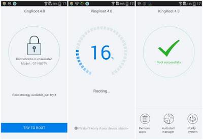 Cara Root Samsung Galaxy J1 J100F, J100FN, J100H, J100H/DD, J100H/DS, J100M, J100MU Terbaru Tanpa PC bisa Menggunakan Aplikasi King Root, Towel root, Frama Root, Towelroot, Root Genius