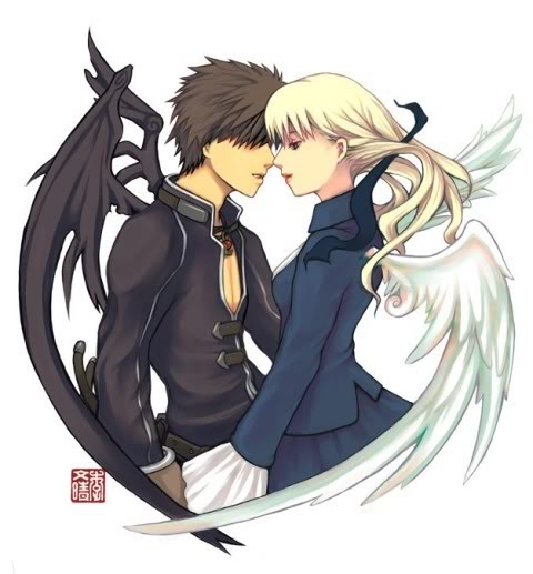Anime angel couples images |The Free Images