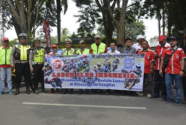Ratusan Pembalap Dari Berbagai Daerah Mengikuti Balapan Di Langkat