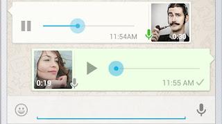 Como enviar Áudio no whatsapp com musica de fundo tocando