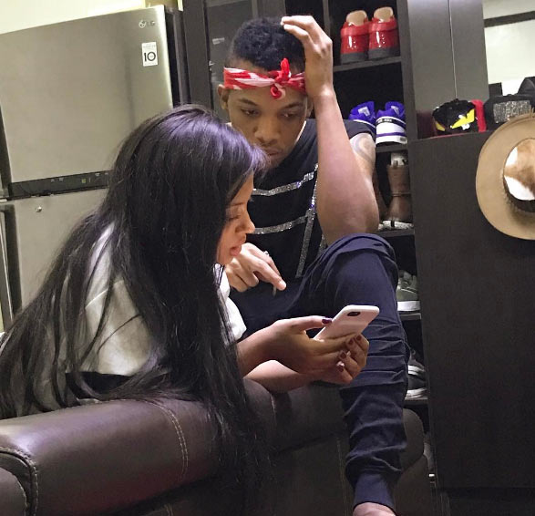 Fans curious as Tekno shares moment with his alleged bae, Lola Rae