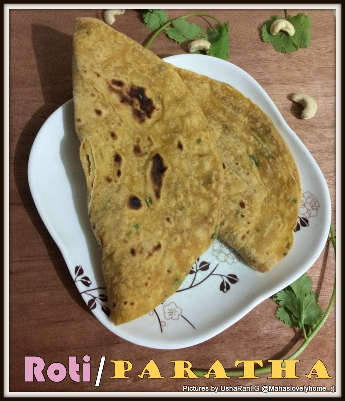how to make soft paratha roti