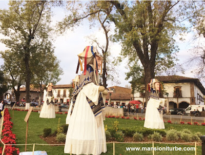 The Viejitos at the Monumental Nativity in Pátzcuaro