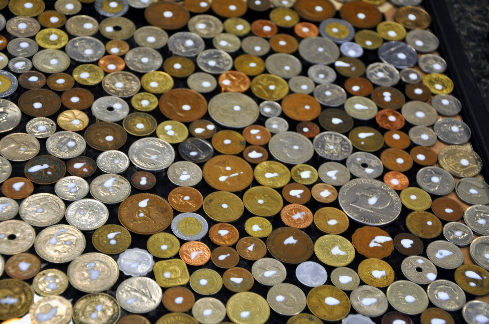 coin craft ideas turning stones coin 1336