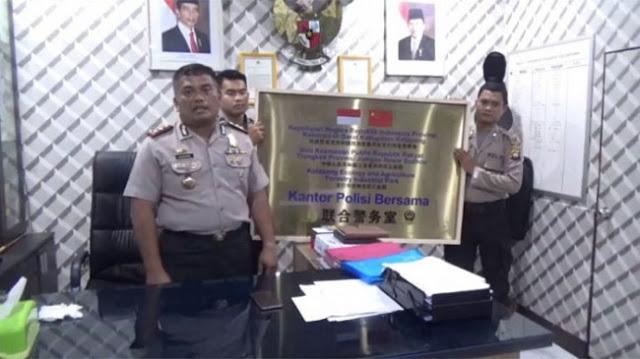 Viral Kantor Bersama Polisi RI-China, Waspadai Misi Terselubung Tiongkok di Indonesia
