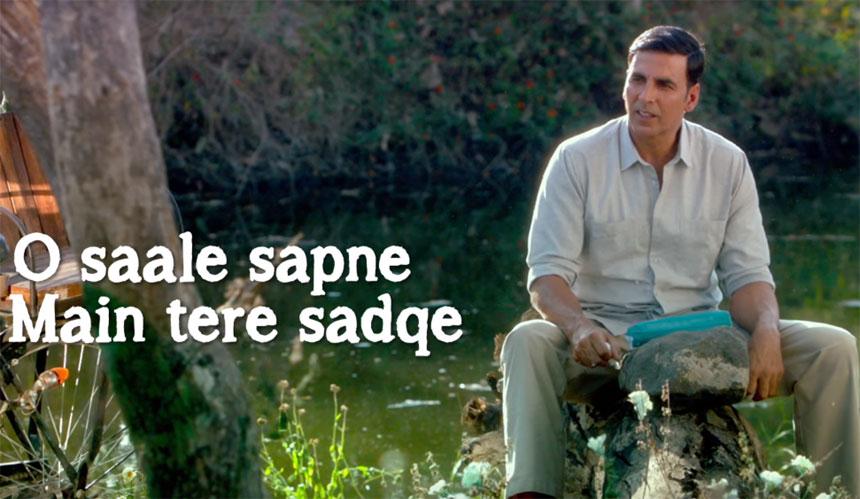 Saale Sapne Lyrics - Padman | Akshay Kumar