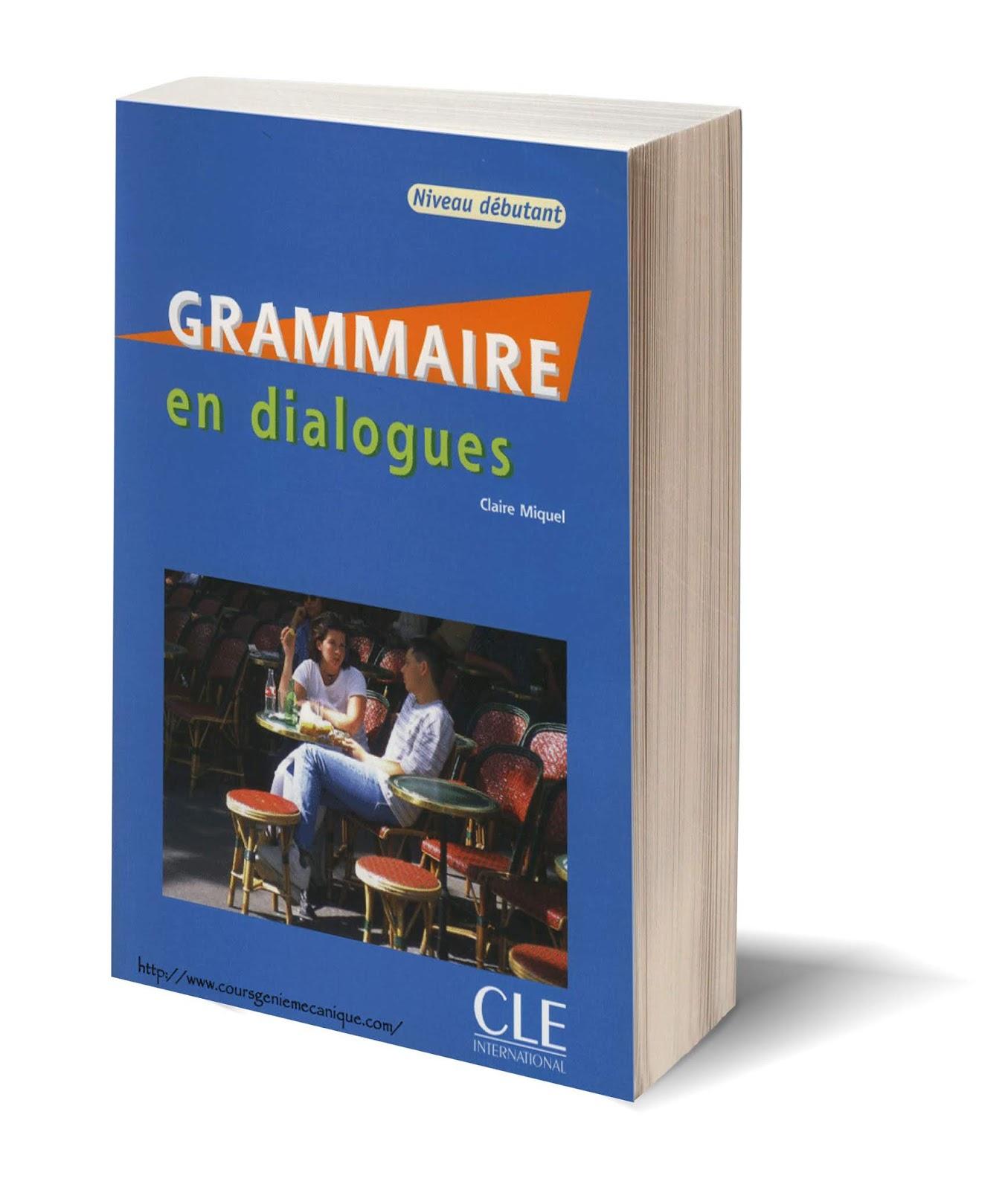 Telecharger Grammaire En Dialogues Niveau Debutant En Pdf