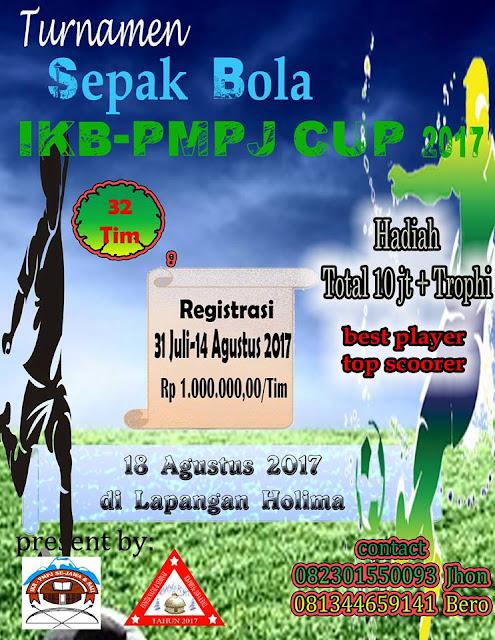 Panitia IKB-PMPJ se- Jawa dan Bali CUP Mengundang Secara Terbuka Kepada Seluruh Komponen Untuk Turut Berpartisipasi