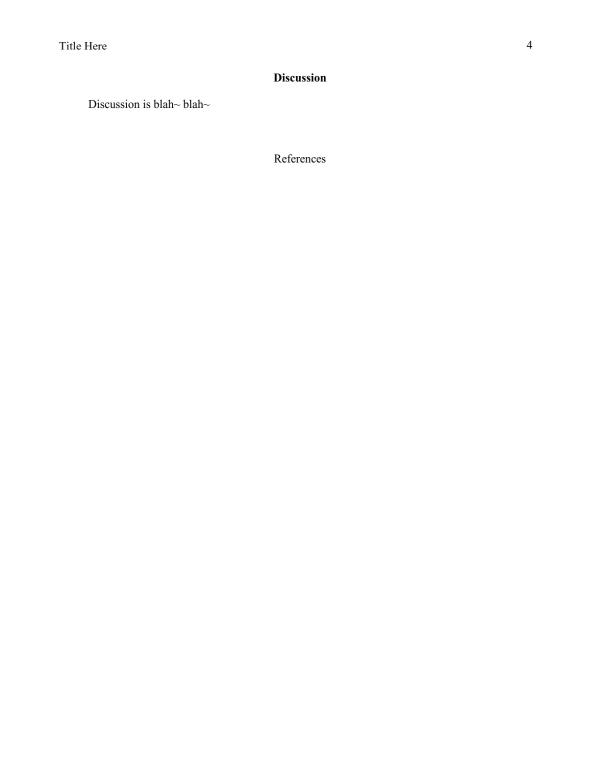 apa format in word - Baskanidai - how to use apa format in word