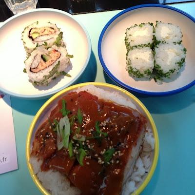 restaurant japonais à La Défense
