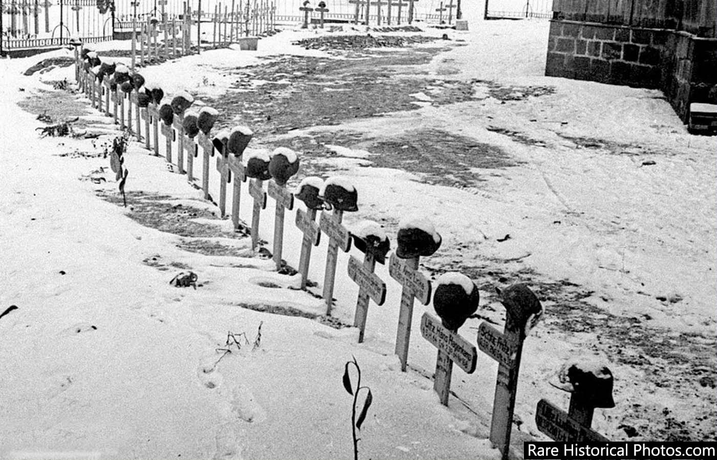 The Germans interred at Stalingrad.