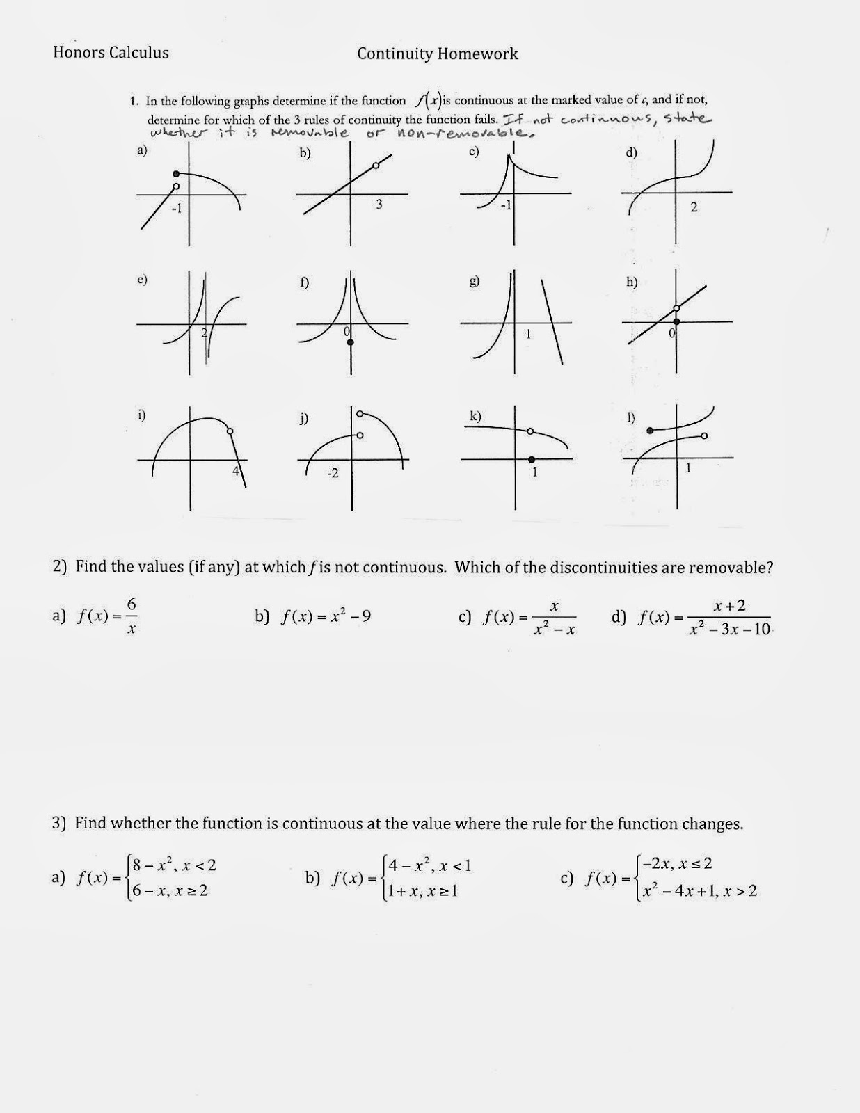 Mr Suominen S Math Homepage September