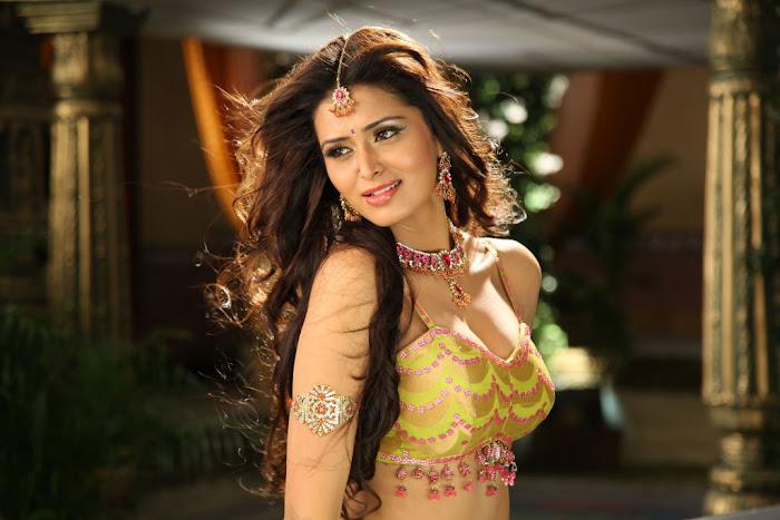 Glorious and ornamental winning diva Meenakshi dixit hot  pics collections