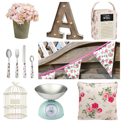 Shabby chic accessories