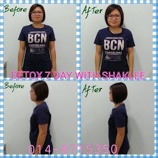 7 Days detox; slim; healthy; Shaklee detox; Shaklee Labuan; Shaklee kudat; Shaklee Kota Kinabalu; Shaklee port dickson; Shaklee balik Pualu; Shaklee Labuan