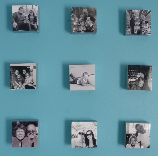 Handmade Intentions Modge Podge Canvas Photos