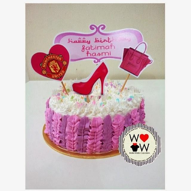 W A L L A W A L L A Cupcakes: HAPPY BIRTHDAY FATIMAH HASMI