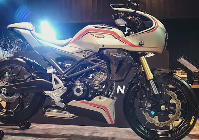 Modifkasi Honda CB150R Exmotion