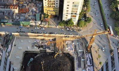 Tiến độ xây dựng dự án Grandeur Mỹ Đình